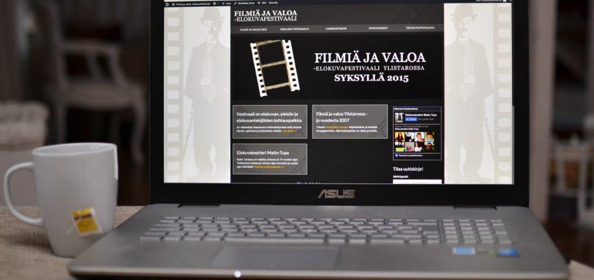 Filmiä ja valoa -elokuvafestivaalin uudet nettisivut on avattu!